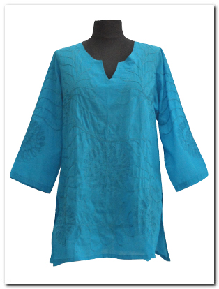 JM2711E-SHORT-Caftan-with-elbow-sleeves-side-splits-popular-plus-size-top.